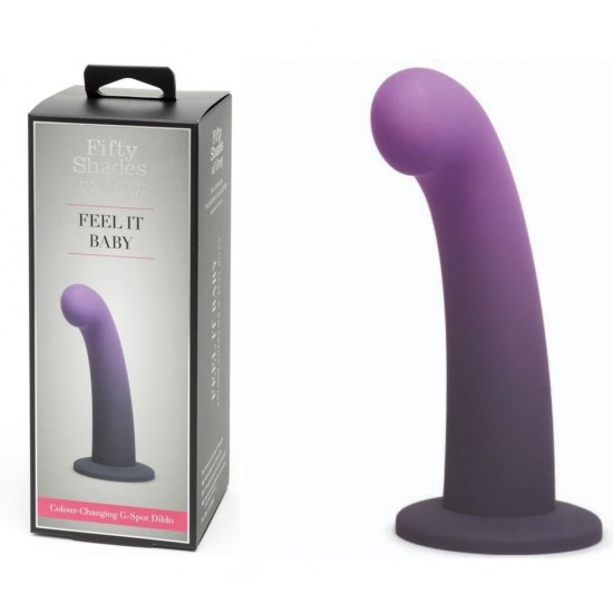 319972 Feel it Baby Color Changing G-spot Dildo