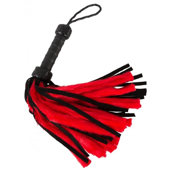 20404503000 Whip Fluffy Black Red